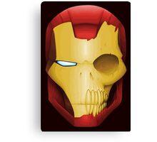 Iron Man Skull Canvas Print