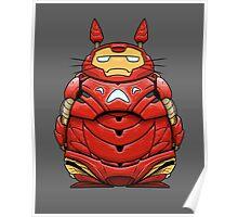 Iron Man Totoro Poster