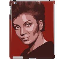 Uhura from TOS Star Trek (stylized) iPad Case/Skin