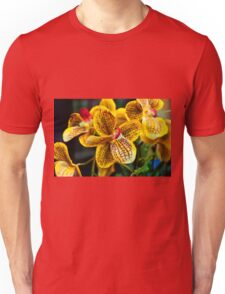 Yellow Orchid Unisex T-Shirt