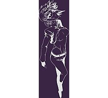 ghost in the shell motoko kusanagi anime manga shirt Photographic Print