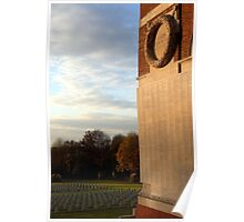 Thiepval monument to the missing of the Somme Poster