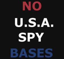 No USA Spy Bases by Gregory John O'Flaherty