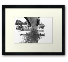 Something to say Framed Print