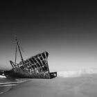 Ghost Ship - Western Sahara by Nick Bradshaw