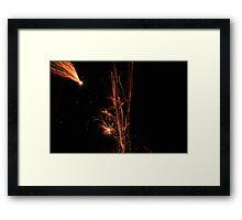 Light my Fire Works Framed Print