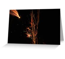 Light my Fire Works Greeting Card