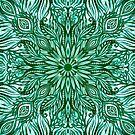 - Emerald pattern - by Losenko  Mila