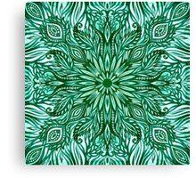 - Emerald pattern - Canvas Print