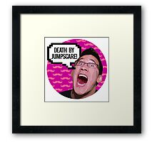 Markiplier DEATH BY JUMPSCARE! Framed Print