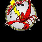 VAQ-132 Scorpions Alternate Logo Concept by Kowulz