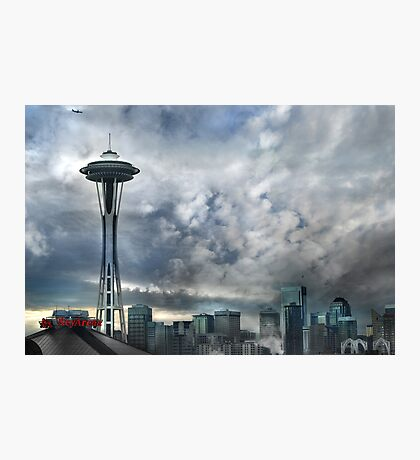 Sweetly Seattle ... Seattle Rain Series Photographic Print