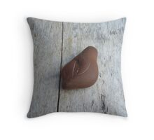 Lighting Stone Throw Pillow