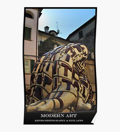 rabarama sculpture Poster