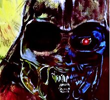 Darth Vader Alien Terminator Mashup by Tim Coventry