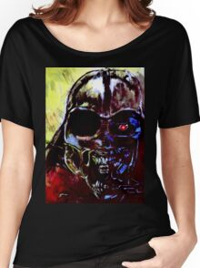 Darth Vader Alien Terminator Mashup Women's Relaxed Fit T-Shirt
