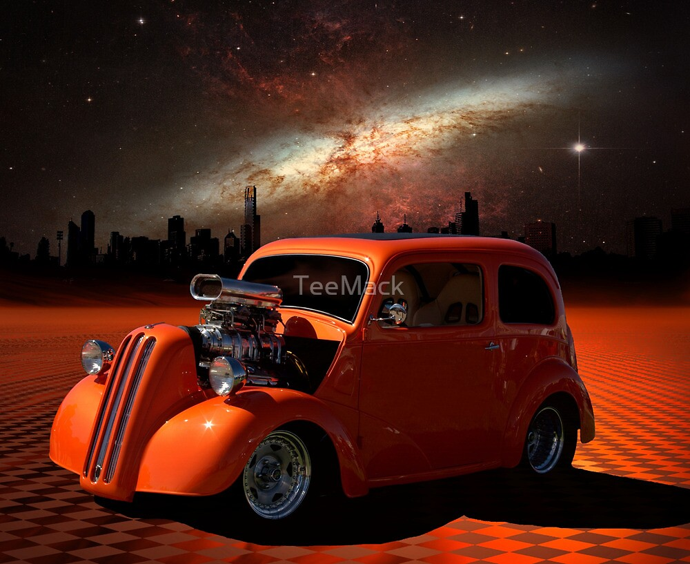 1949 Anglia Dragster by TeeMack