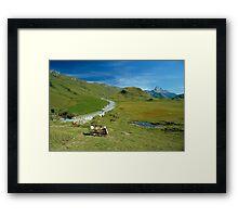 Hochtannberg Pass, Austria, 1980s Framed Print