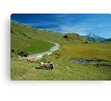 Hochtannberg Pass, Austria, 1980s Canvas Print