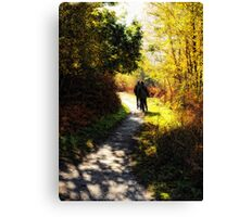 Saturday Stroll Canvas Print