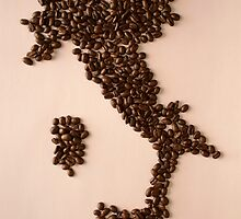 Coffee Beans (Italy Ver.) by Beanne Hao