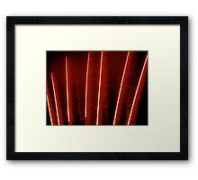 Ostentation Framed Print