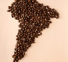 Coffee Beans (South America Ver.) by Beanne Hao