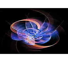 Digital art abstract composition suitable for background Photographic Print
