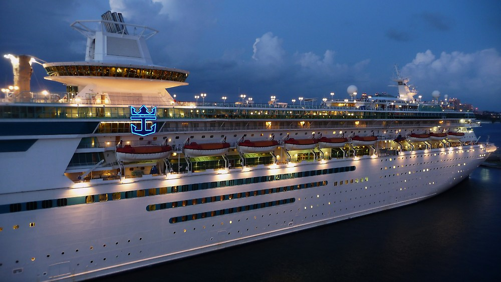 Night Time on the Monarch by Adria Bryant