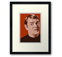 Scotty from Star Trek TOS (stylized) Framed Print