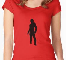 ant-man shadow Women's Fitted Scoop T-Shirt