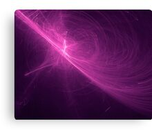violet Abstract background on black tone Canvas Print