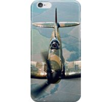 BBMF Spitfire IIa P7350 over South Lincolnshire iPhone Case/Skin