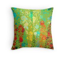Messy Bubbles Throw Pillow