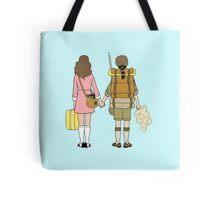 Moonrise Kingdom - Suzy & Sam Tote Bag