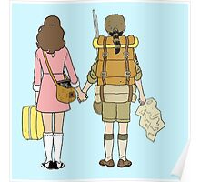 Moonrise Kingdom - Suzy & Sam Poster