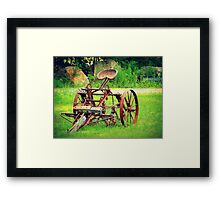 The county seat in hdr Framed Print