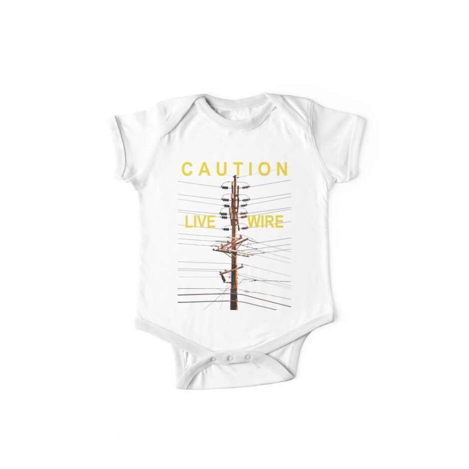 Caution - Live Wire by Paul Gitto