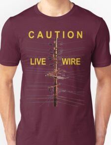 Caution - Live Wire T-Shirt