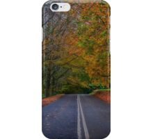 Forever autumn iPhone Case/Skin
