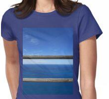 Horizon ahead! Womens Fitted T-Shirt