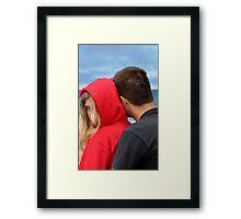 Sneak Peek Framed Print