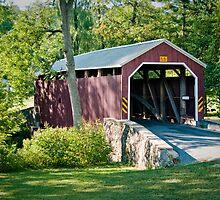 Zook's Mill Bridge by Yvonne Roberts