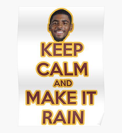 Make it rain -  Kyrie Poster