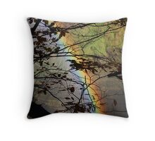 Peek-a-bow Throw Pillow