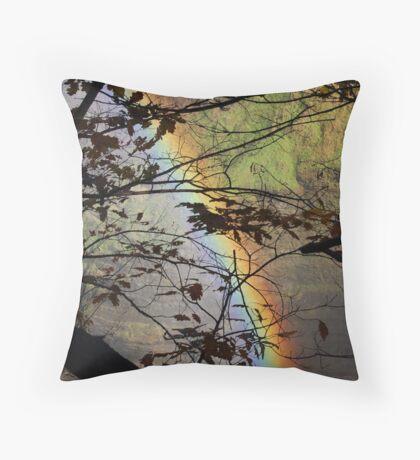 Peek-a-bow Throw Pillow