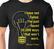 Thomas Edison Lightbulb Unisex T-Shirt