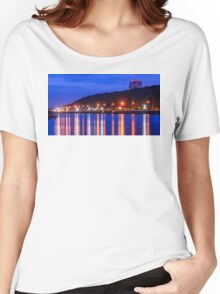 Evening lights above the river Women's Relaxed Fit T-Shirt