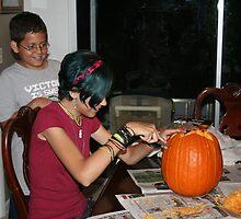 Pumpkin Carving by Virginia N. Fred