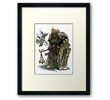 Dark Angel Deathwing Knight Framed Print